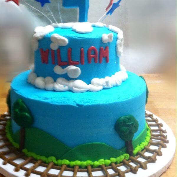 American Ninja Warrior Cake | Wedding Cakes Minneapolis Bakery